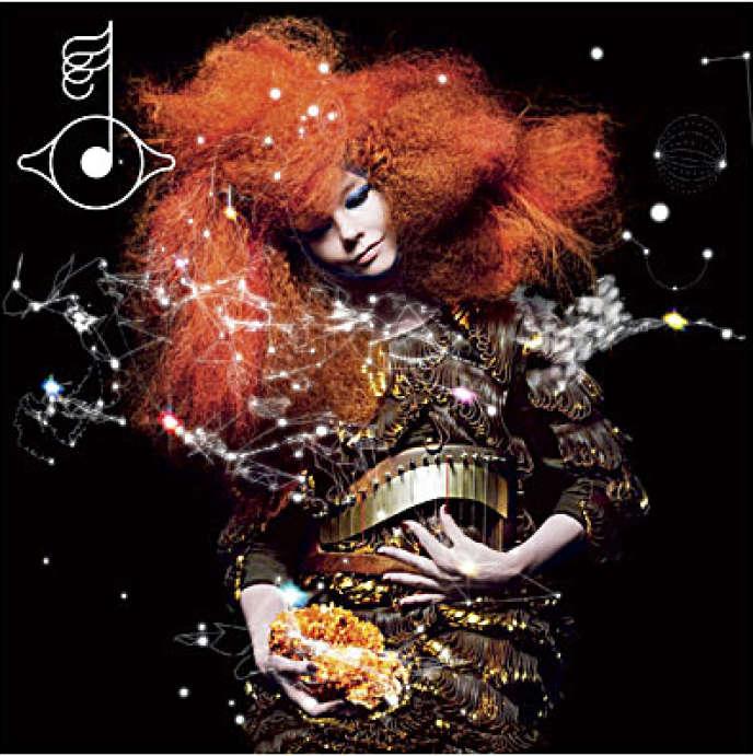 Pochette de l'album de Björk,