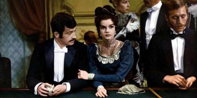 Jean-Paul Belmondo et Geneviève Bujold dans le film français de Louis Malle,
