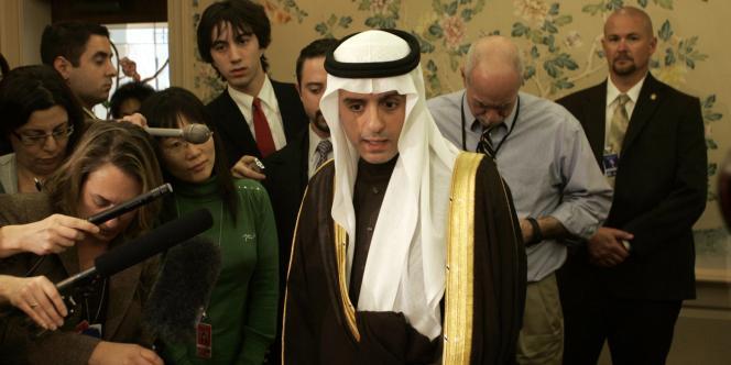 L'ambassadeur saoudien à Washington, Adel Al-Jubeir, en novembre 2007.