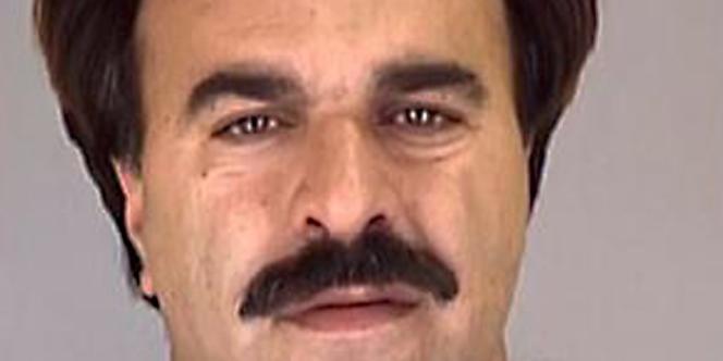 Mansour Arbabsiar, l'un des deux suspects. Photographie du bureau du shérif du Texas.