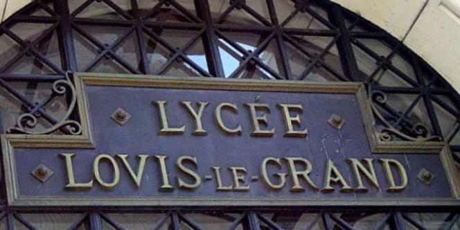 Le lycée Louis-Le-Grand, à Paris, reste l'un des principaux pourvoyeurs des écoles de prestige.