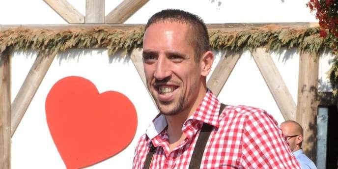 Franck Ribéry, le 2 octobre lors de la fête de la bière à Munich.