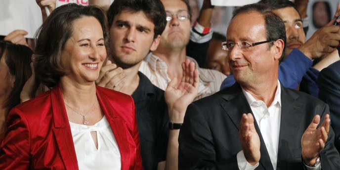 Ségolène Royal et François Hollande, à La Rochelle, le 28 août 2011.