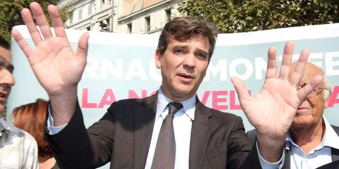 Arnaud Montebourg, ici à Marseille le 23 septembre, avait dénoncé une