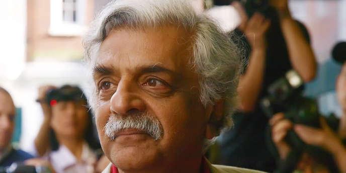 L'écrivain anglo-pakistanais Tariq Ali à Londres en juillet 2010.