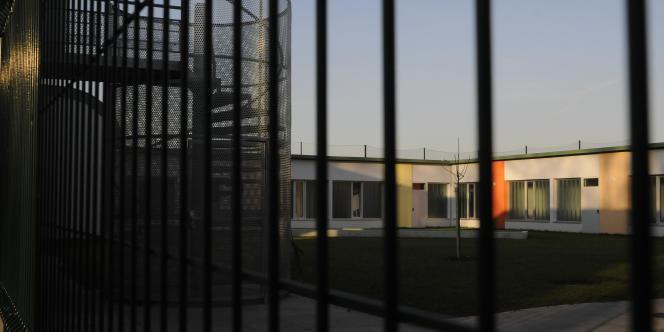 Vue extérieure du centre éducatif fermé pour mineurs de Mulhouse, le 14 novembre 2008.