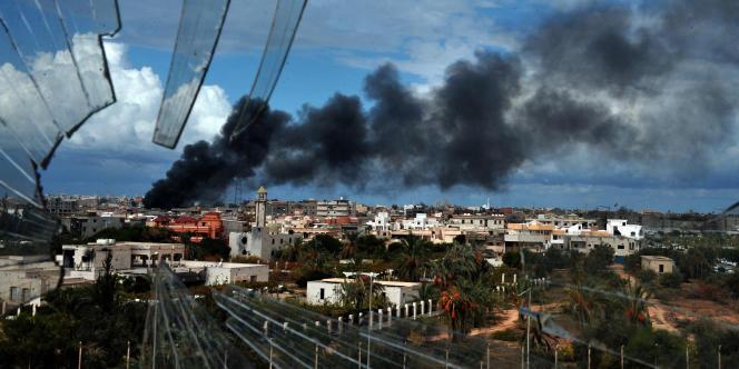 Vue de la ville de Syrte, le 13 octobre.