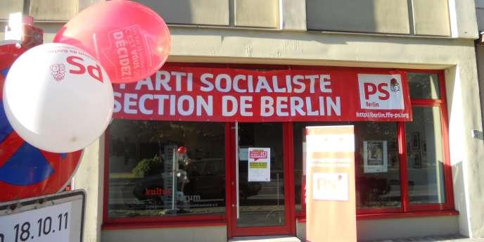 Le bureau du PS à Berlin, en Allemagne, en octobre 2011.