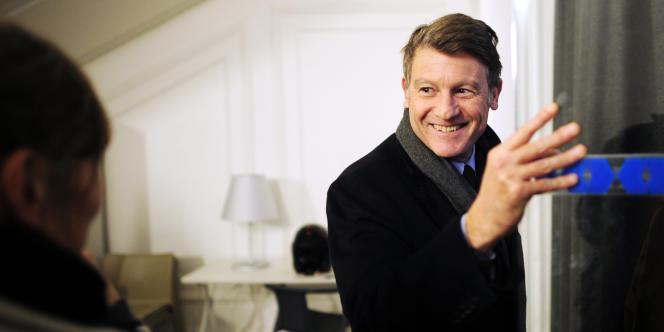Vincent Peillon, en novembre 2010 au siège du PS à Paris.