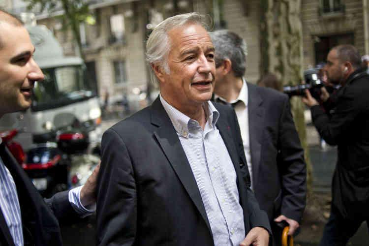 François Rebsamen, conseiller pour les questions de sécurité du candidat PS, François Hollande, à Paris en juillet 2011.