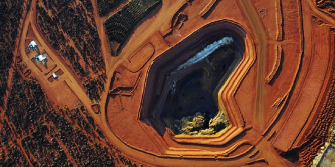 Une mine de métaux rares dans l'ouest de l'Australie. La Chine est devenue le premier acheteur de matières premières du pays.