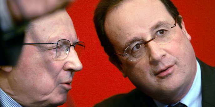 Son mentor demeure Jacques Delors, pour lequel il fonde les clubs Témoins. Il regrette que l'ancien président de la Commission européenne renonce à se présenter à la présidentielle.