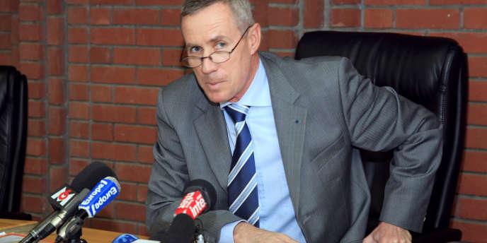 Le procureur François Molins (ici, en 2008, à Bobigny).