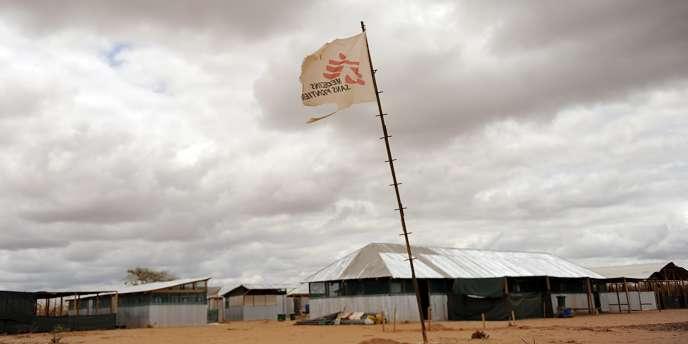 Une clinique de Médecins sans frontières abandonnée dans le gigantesque camp de réfugiés de Dadaab.