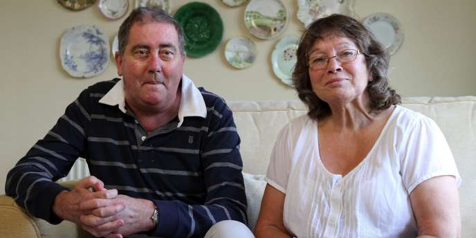 Alan Billis et sa femme en août 2010