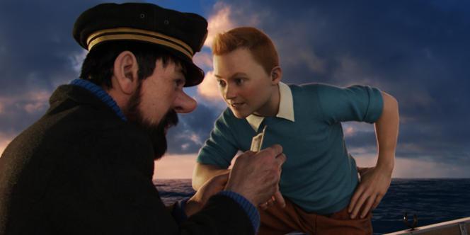 Une scène du film d'animation américain de Steven Spielberg,