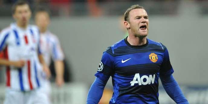 Wayne Rooney face aux Roumains de Galati le 18 octobre dernier.