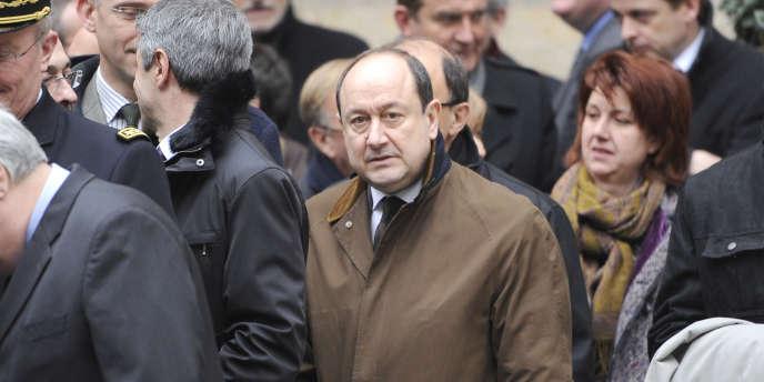 Bernard Squarcini, patron de la DCRI, au ministère de l'intérieur, le 28 février 2011.