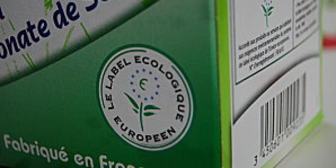 Vue du logo de l'Eco-label européen.