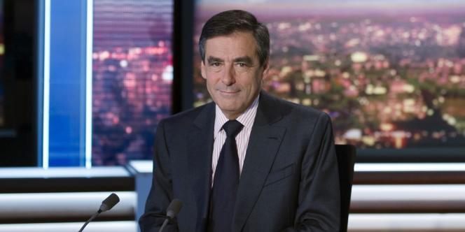 François Fillon le 17 octobre sur le plateau de France 2.