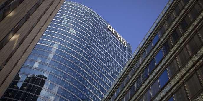 Le siège de Dexia à La Défense.