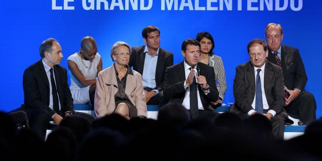 La convention de l'UMP, le 18 octobre, était destinée à démonter le programme du parti socialiste pour l'élection présidentielle de 2012.