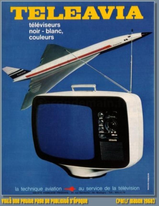 En 1966, le téléviseur Téléavia rend célèbre son designer, Roger Tallon.