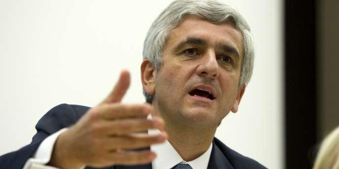 Hervé Morin, le 9 octobre 2010, à Paris.