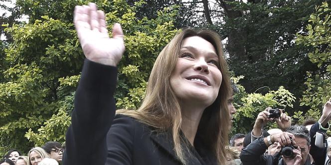 Carla Bruni-Sarkozy, le 17 septembre