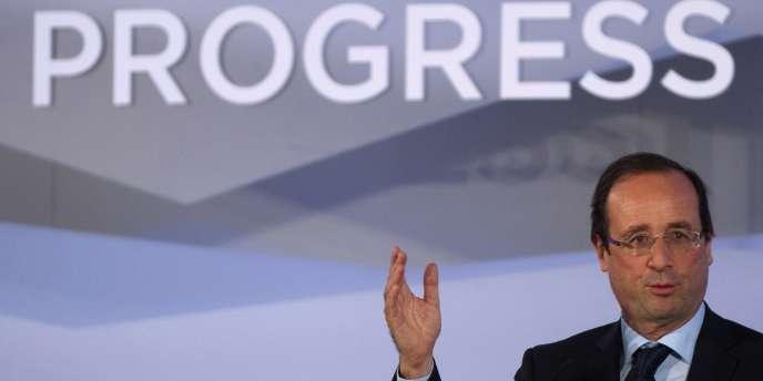 François Hollande à Madrid, le 19 octobre 2011.