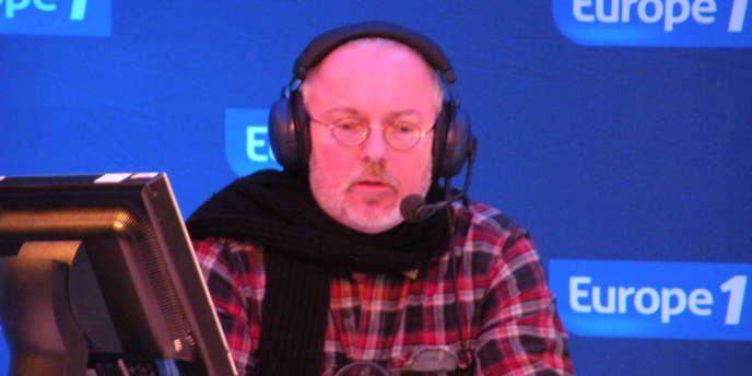 Pierre-Louis Basse lors du déplacement d'Europe 1 à Rennes le 27 janvier 2011.