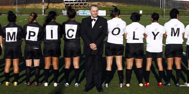 Jacques Rogge, en octobre 2011 à Auckland, Nouvelle-Zélande.