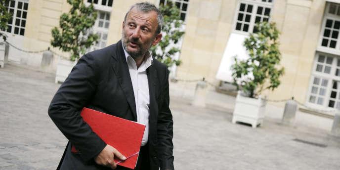 Le député et maire de Sarcelles (Val d'Oise), François Pupponi à Matignon, en 2010.