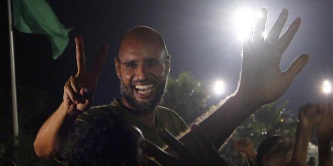 Saïf Al-Islam prétendait encore à la victoire à Tripoli, le 23 août, alors que les rebelles étaient déjà dans la ville.