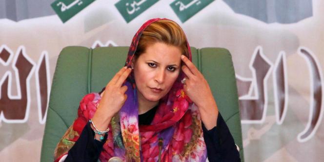 Aïcha Kadhafi a fui en direction de l'Algérie le 29 août.