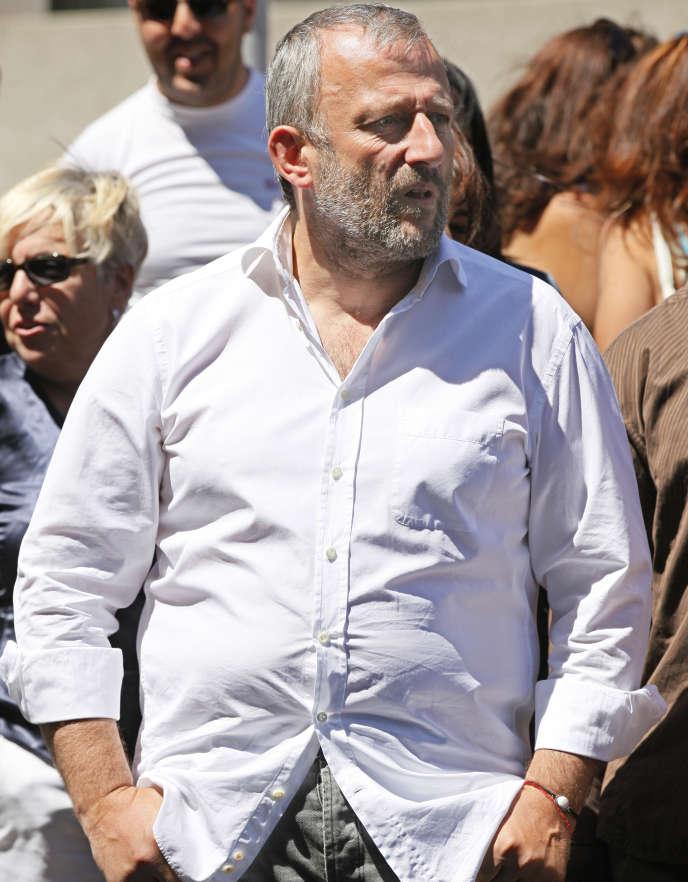 François Pupponi, le 3 juillet 2011, à Sarcelles.
