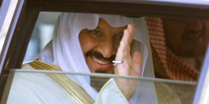 Le prince Sultan ben Abdel Aziz, en 1999, à l'Elysée.
