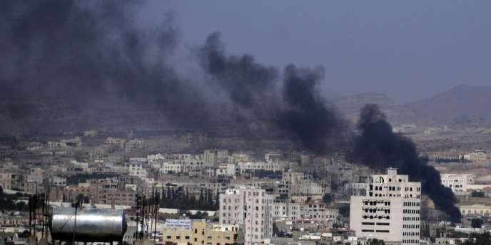 Des tirs de roquettes, de mortiers et d'armes automatiques ont retenti dans différents quartiers de Sanaa, samedi.
