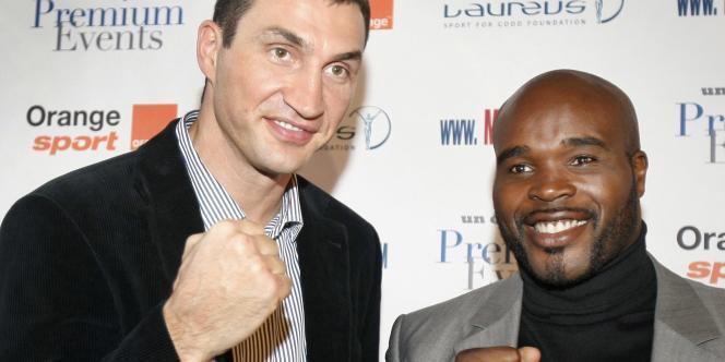 En octobre 2011, le champion Vladimir Klitschko se préparait à boxer contre le Français Jean-Marc Mormeck, en Allemagne.