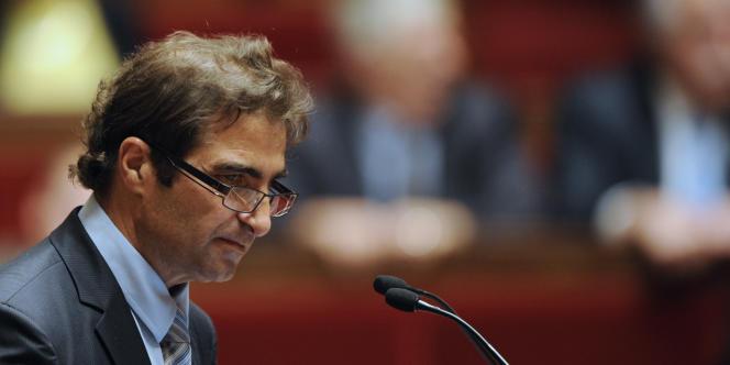Le président du groupe UMP de l'Assemblée nationale, Christian Jacob, le 24 novembre 2010.