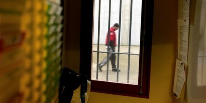 Dans la prison de Villefranche-sur-Saône, en janvier 2008.