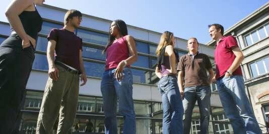 Etudiants de l'école d'ingénieurs Grenoble INP.