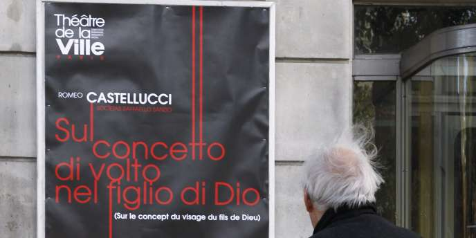 Affiche de la pièce de Romeo Castellucci,
