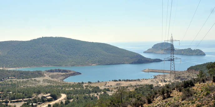 La vallée d'Akkuyu, dans la province turque de Mersin, au bord de la Méditerranée.