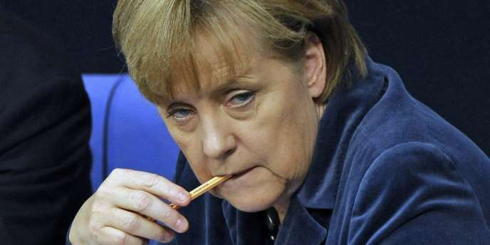 La chancelière allemande Angela Merkel à Berlin, le 26 octobre.
