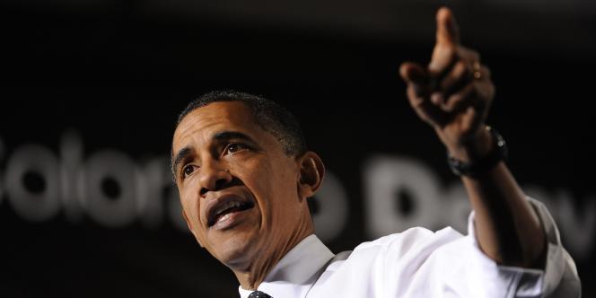 Barack Obama à Denver, le 26 octobre 2011.
