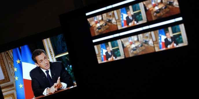 L'interview télévisée de Nicolas Sarkozy, le 27 octobre.