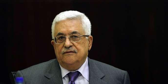 Mahmoud Abbas, le président palestinien, le 29 septembre 2011 à Ramallah.