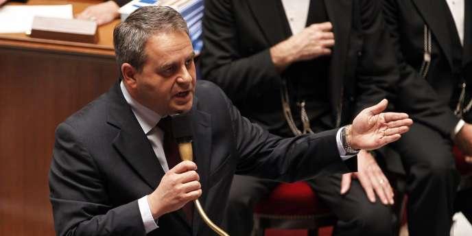 Xavier Bertrand, le 25 octobre 2011 à l'Assemblée.