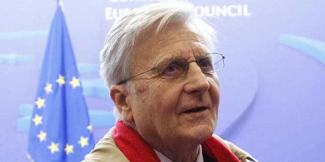 Le président de la Banque centrale européenne, Jean-Claude Trichet, à Bruxelles le 27 octobre 2011.